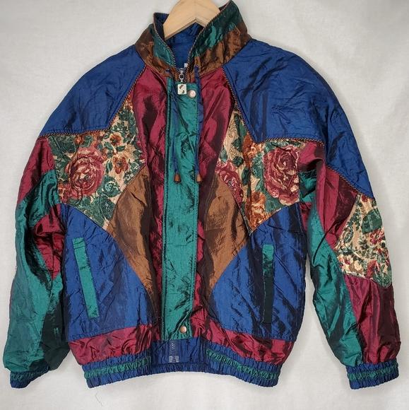 Vintage 80s Active Stuff Windbreaker Jacket